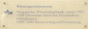 Im Klostergarten Oelinghausen werden historische Nutz- und Heilpflanzen gepflegt.