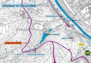 Fließ- und Stillgewässer im Rumbecker Holz